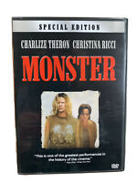 Monster - Special Edition DVD Charlize Theron Christina Ricci 2003 Pre-owned