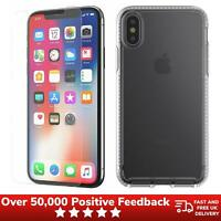 iPhone X XS Case & Screen Protector Pack Lightweight Clear - Genuine Tech21