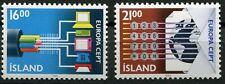 Island 682 - 683 postfrisch, Europa - Transport und Kommunikationsmittel