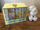 Precious Moments Birthday Train Series Figurine 1985 4 year old 15970 - with box