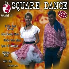 World of Square Dance (#zyx11111-2) Achy Breaky, Boot Scootin' Boogie, .. [2 CD]
