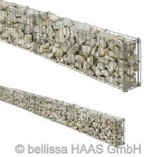 Gartenmauer / Mauer Gitter Set Steinkorb bellissa 464x10x20cm
