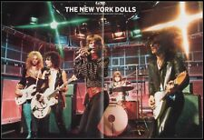 Original 2005 Magazine Photo / Poster New York Dolls Batio Dean Mach VII Guitar