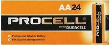 NEW DURACELL PROCELL AA 1.5V ALKALINE BATTERIES 72! EXP in 2028