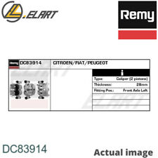 BRAKE CALIPER FOR FIAT PEUGEOT CITRO N DUCATO BUS 250 290 4HV F1AE0481D REMY
