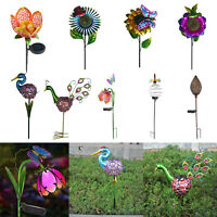 3PC Solar Power Flower Lamp Strip Landscape Rose LED Lights Home Courtyard Decor