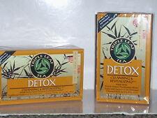 NATURAL DETOX TEA CLEANSING FULL BODY LIVER DETOXIFICATION 40 TEA BAG 2 BOXES
