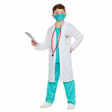 Complete Outfit Synthetic Doctor & Nurse Fancy Dresses
