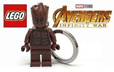 Lego Marvel Super Heroes TEEN GROOT Keychain Avengers Infinity War NEW in Bag