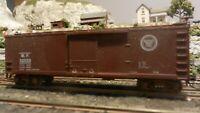 Train Miniature HO Missouri Pacific 40' DS Wood Boxcar, Upgraded,  Ex