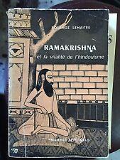 Solange Lemaitre / ramakrishna et la vitalité de l'Hindouisme / 1966