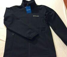 Columbia Bowen Lake Softshell Black Jacket Size Small - NWT - MSRP $115