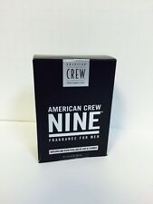 American Crew NINE Fragrance Cologne For Men - 2.5oz NEW!
