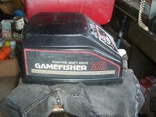 Gamefisher 7.5HP Outboard boat motor hood sears roebuck