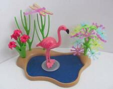 Playmobil étang avec Flamingo BIRD Zoo/African Safari Décor