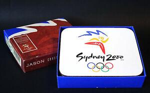 Official Licensed Merchandise Sydney 2000 Logo JASON 7x Millennium Coasters NEW