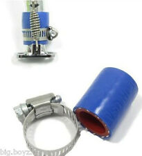 1/5 RC Exhaust Silicone Coupler & Clamp Fit Dominator Pipe or Similar 19mm X27mm