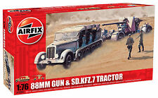 Airfix 1502303 88mm Gun & SD.KFZ.7 Tractor 1:76 Modell Geschütz Panzer Modellbau