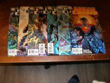Infinite Crisis 1,2,3,4,5,6,7 of 7 2005/06 near mint DC comic lot sm