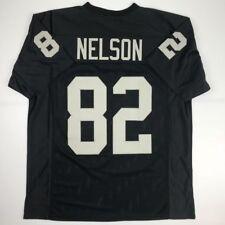 New JORDY NELSON Oakland Black Custom Stitched Football Jersey Size Men s XL 94614207e