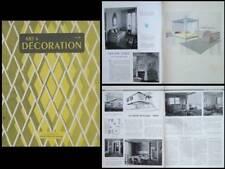 ART ET DECORATION n°17 1950 Jean Prouvé, JEAN ROYERE,