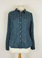 Seasalt Ladies The Larissa Shirt Fitted Long Sleeve Blouse Top Shirt UK 10