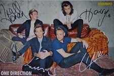 ONE DIRECTION - Autogrammkarte - Signed Autograph Autogramm Sammlung Clippings
