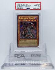 YUGIOH 2008 PTDN-EN019 DARK ARMED DRAGON SECRET RARE PSA 10 GEM MINT #28625421
