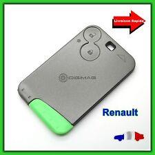 Coque Carte de Remplacement Télécommande Plip Clé Renault 2 bouton Laguna Espace