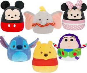 Squishmallows Disney 10 Inch Plush : Buzz Mickey Dumbo Stitch Pooh Genuine NEW