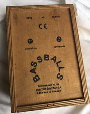 EHX Electro Harmonix Russian Bassballs Envelope Filter Pedal with Wood Box