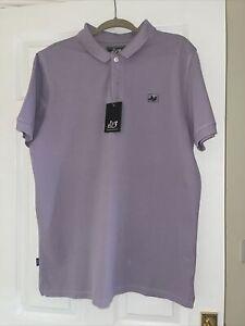 peaceful hooligan Gorgeous Lilac Polo Shirt XL