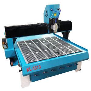 KL-1313 CNC Router 51″ x 51″ x 11.0″ T slot, Vacuum Table