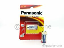 20 PANASONIC CR123A Lithiumbatterie CR123 CR 123 123 Ø16,5 x 34,2mm