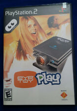 Sony EyeToy & Play Game (PlayStation PS2) Be the star of the game! Free US Ship!