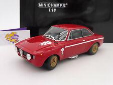 """Minichamps 155120020 # ALFA Romeo GTA 1300 Junior Bj. 1971 """" alfarot """" 1:18 NEU"""
