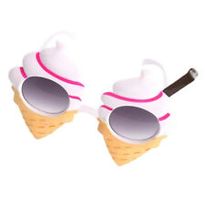Funny Ice Cream Cone Shaped Sunglasses Kids Girls Party Eye Glasses Costume