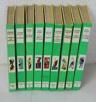 9 romans Bibliothèque verte  livres  années 1960 Cho