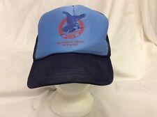trucker hat basebal cap FRATERNAL ORDER OF EAGLES retro vintage show good grunge