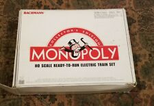 NIB Bachmann Collector's Edition Monopoly HO Ready-to-Run Electric Train Set