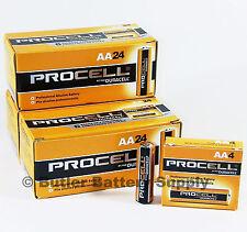 72 x AA Duracell Procell Alkaline Batteries (PC1500, LR6)
