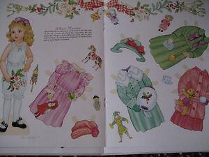 2003 Karen Reilly French ALBERT MARQUE Paper Doll  UNCUT