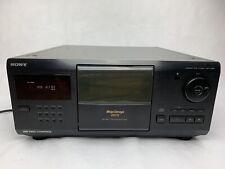 Sony CDP-CX200 MegaStorage 200 Disc CD Player (No Remote)