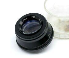 Vintage Lens for enlarger AMAR 4.5/105 Red P Black Rare PZO M42 Mount Tested