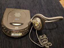 Lenoxx Sound Cd-51 Programmable Cd Player Bass Boost W/ Sentry Headphones