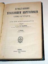 Cicerone-M. TULLII CICERONIS Tusculanarum Disputationum libri quinque (1883)