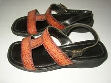 Women's 8 M Slingback Sandals Shoes Brown