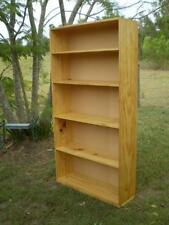 Handmade Pine Bookshelves