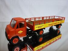 RW MODELL 411 HANOMAG TRUCK + TRAILER RED 1:50 RARE - GOOD - SPECIFICALLY BUILT