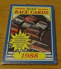 1988 MAXX RACING CARDS CHARLOTTE PACKS FACTORY SEALED FULL OF ROOKIES AND STARS